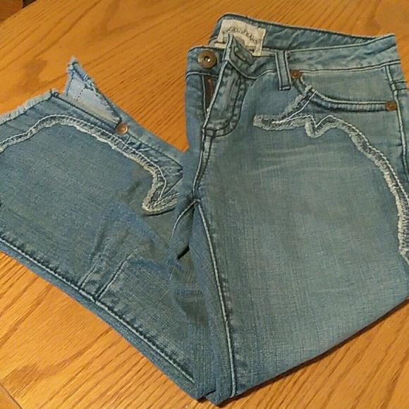 96f92e96f8d42 Angel Jeans Denim - Capri Jeans by Angel Vintage California size M -30